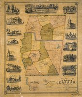 Map of the town of Canaan, Litchfield Co. Conn. drawn & surveyed by L. Fagan
