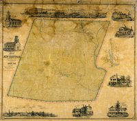Map of the town of New Hartford, Litchfield Co., Conn. surveyed and drawn by L. Fagan, lith. by Friend & Aub