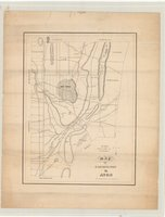 Map of Farmington & Avon. Lithog. of Stodart & Currier..