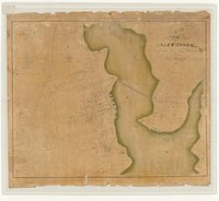 Map of Bridgeport accurately surveyed & delineated by H. L. Barnum