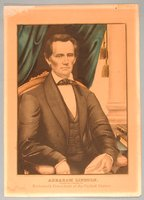 Abraham Lincoln, Republican Candidate for Sixteenth President of the United States