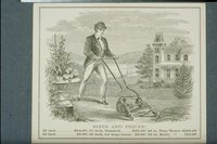 Advertisement for the New Charter Oak Lawn Mower, Hartford