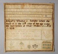 Abigail Ursula Wooster's Sampler