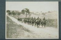 Cavalry on march to Newgate Prison, East Granby
