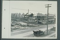 Houses under construction, New Britain Avenue, Hartford