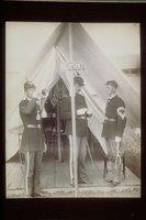 Adjutant's tent, Connecticut National Guard, Waterbury