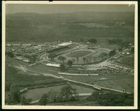"Aerial View with Sign """"""""The Great Danbury Fair"""""""""