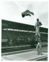 Acrobats on Trampoline, Danbury Fair