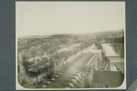 American Thread Company: view from the roof, Willimantic