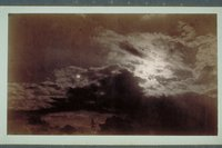 View of clouds and sun, possibly Windsor, 1885