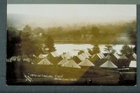 Tents in cavalry camp, Hampton