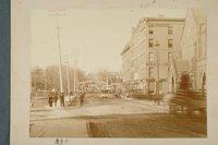 Asylum Street railroad crossing, Hartford