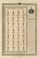 Armed alphabet. This mute, Charles Parker, belonging to West Rupert, Vermont, is an inventor of the new illustrated alphabet, and was educated in the American Asylum of Hartford, Conn. ... Charles Parker, sole proprietor and traveler, or address Col. Jose