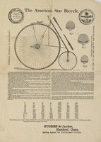 American star bicycle ... Storrs & Candee., Hartford, Conn, selling agents for Hartford and vicinity