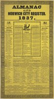 Almanac and Norwich city register. 1837
