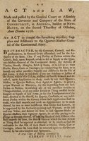 Act and law made and passed by the General Court ... : holden at New-Haven, on the second Thursday of October ... 1776.