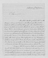Correspondence with Jonathan Trumbull Sr., William Bryant, Stephen Apthorp, 1764-1767