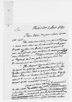 Oliver Wolcott Jr. Papers: Letters from Oliver Wolcott, 1783 April-March