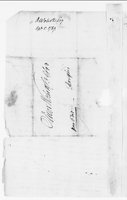 Oliver Wolcott Jr. Papers: Letters and documents from Oliver Wolcott Sr., 1789-1790