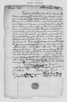 Correspondence with Isaac Wharton, Silas Deane, Henry Hill, and Roger Newberry, 1773