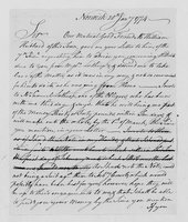 Correspondence with Charles Whiting, Henry Hill, Silas Deane, Roger Newberry, and William Townsend, 1774