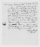 Correspondence with Anthony Ellsworth, Christopher Leffingwell, Jabez Huntington, and others, 1775 November