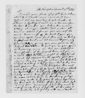 Correspondence with David Trumbull, Jonathan Fitch, Nathaniel Shaw, Jr., Christopher Leffingwell, and others, 1775 December