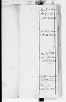 John Trumbull Papers: Receipt book for prints of Declaration of Independence, 1818-1822