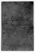 John Trumbull Papers: Accounts with Hartford Bank, 1792-1825