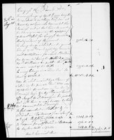 Silas Deane Papers: Accounts: Summary of account of money owed by Congress to Silas Deane, 1776-1780