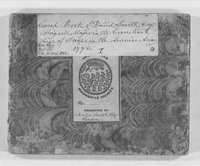 American Revolution Collection: David Smith's orderly book, 1778