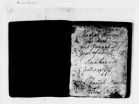 American Revolution Collection: Obadiah Brown's journal, 1776