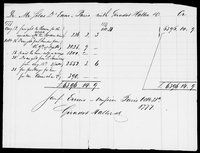 Silas Deane Papers: Accounts: With Haller Geradot Co., 1776-1778