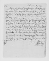 Correspondence with James Bate, Clement Biddle, Joseph Ward, and others, 1777 May 15-30