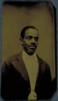 African-American man with a mustache, Norwich