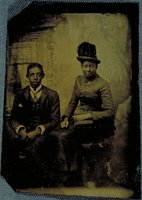 African-American man and woman, Norwich