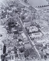 Aerial view of Main Street, Hartford