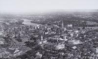 Aerial view of Hartford from the west, Hartford