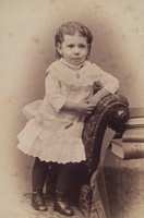 Alice Louise Congdon as a child, Norwich