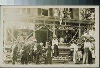 Allison's drug store on Bridge Day, East Haddam, June 14, 1913