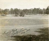 6th green, Keney Park golf course, Hartford, August 1927