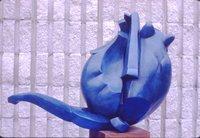 Zeke the Flying Blue Cat