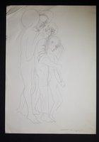 Abraham, Isaac and the Angel (drawing)
