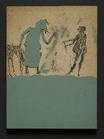 Abraham and Isaac (printing block)
