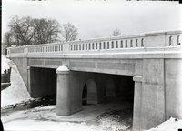 Bridge over Park River, Hartford, January 16, 1920
