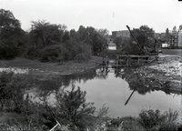 Bridge over stream construction (Wellington Street), Hartford, May 23, 1923