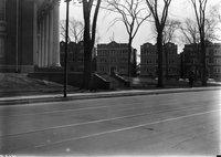 Albany Avenue near Vine Street, Horace Bushnell (Fourth Congregational) Church, Hartford