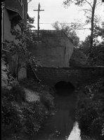 Brick culvert and retaining walls, Hartford