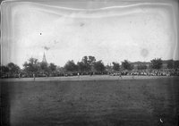 Baseball game, field, Hartford