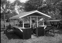Booth, Charter Oak Park fair, West Hartford, 1923
